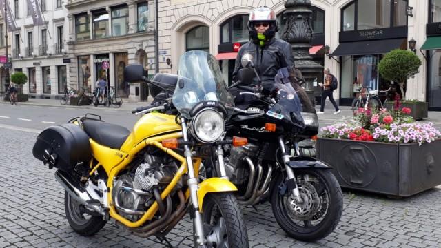 Motorraddemo in München