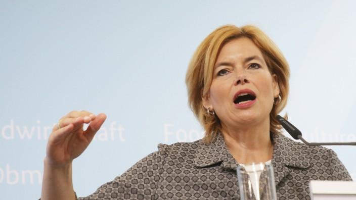 Pressekonferenz Klöckner zu EU-Ratspräsidentschaft