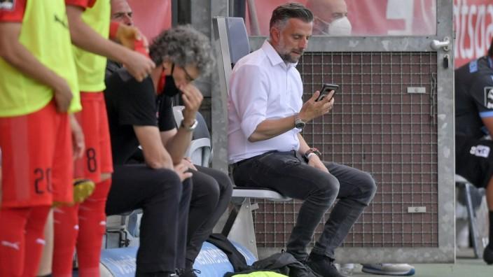 04.07.2020, Fussball 3. Bundesliga 2019/2020, 38.Spieltag, TSV 1860 München - FC Ingolstadt, im Grünwalderstadion Münch