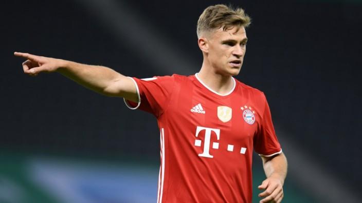 FC Bayern: Joshua Kimmich im DFB-Pokalfinale 2020 gegen Bayer Leverkusen
