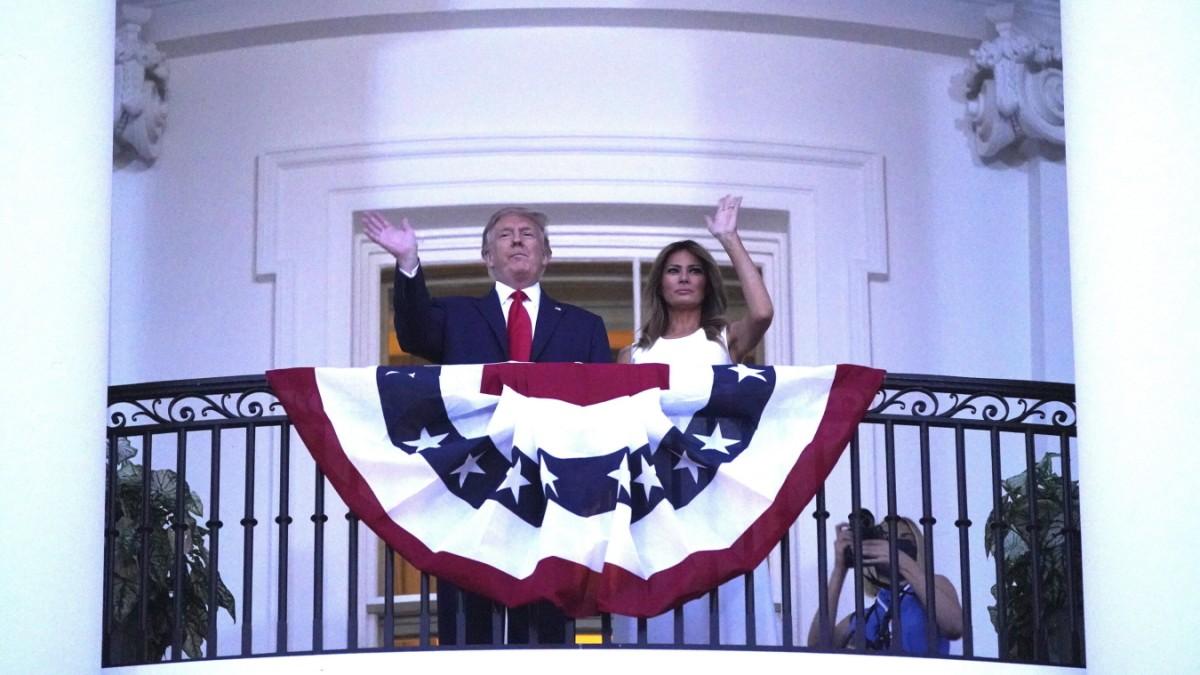 Trump-Rede zum Independence Day: Angegriffene Seele