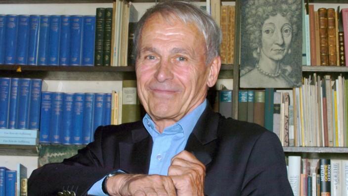 Professor Albrecht Schöne wird 80