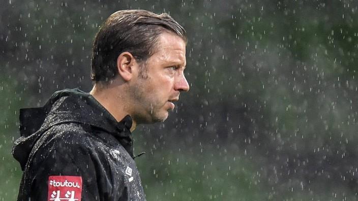 Werder Bremen: Trainer Florian Kohfeldt in der Relegation gegen den 1. FC Heidenheim