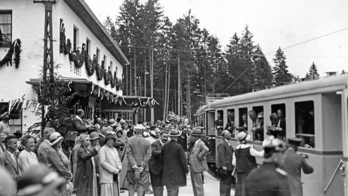 90 Jahre Zahnradbahn zur Zugspitze