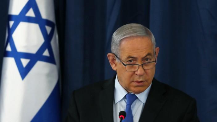 Kabinettssitzung in Israel