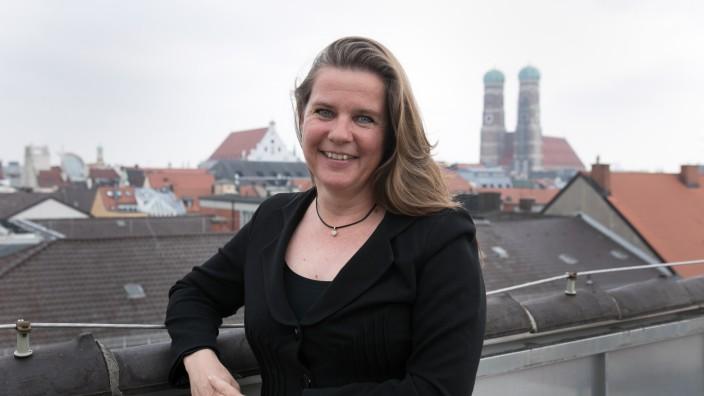 Geraldine Knudson, Tourismus-Chefin im Referat für Arbeit und Wirtschaft, Herzog-Wilhelm-Straße 15