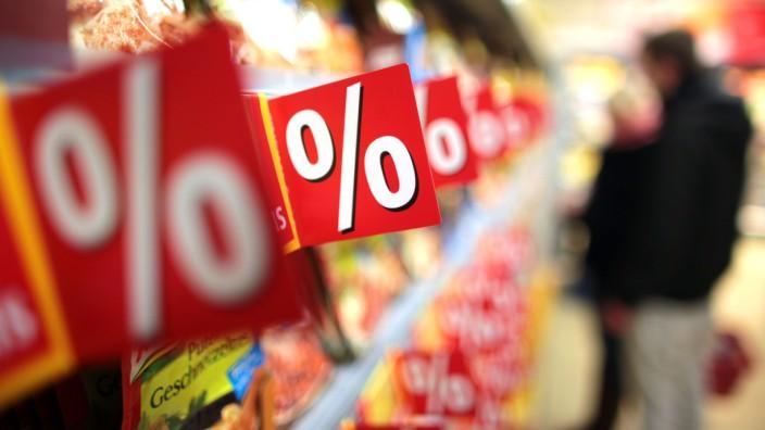 Sonderangebote im Lebensmittelhandel
