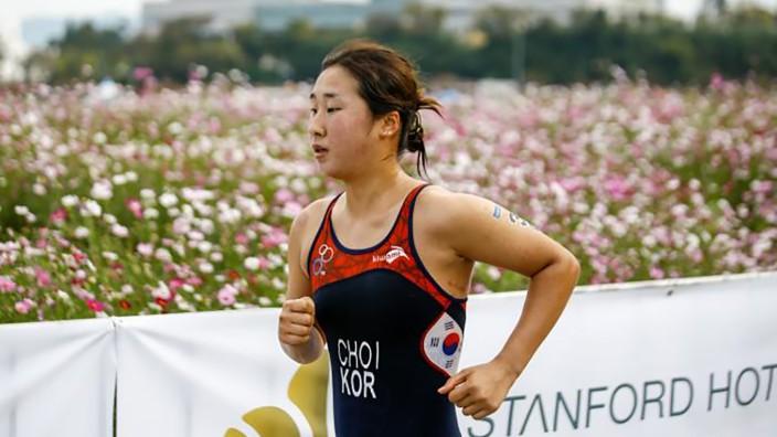 Missbrauch in Südkorea: Allein: Triathletin Choi Suk-hyeon trainierte in Gyeongju in einem Klima von Gewalt und Erniedrigung.