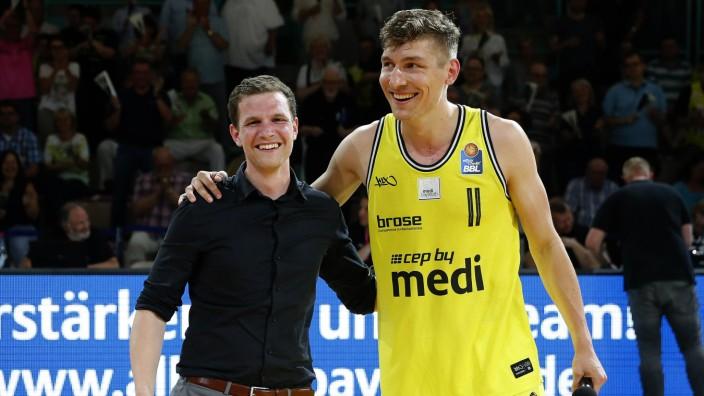 31 Spieltag der easyCredit BBL Basketball Bundesliga in der Oberfrankenhalle in Bayreuth Saison 201; Basketball - Philipp Galewski