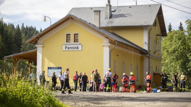 Zugunglück im tschechischen Grenzgebiet