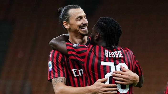 Photo LaPresse - Spada July 07 , 2020 Milan ( Italy ) Soccer A.C. Milan- Season 2019-2020 - Serie A Milan vs Juventus I