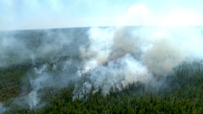 Forscher besorgt wegen Bränden und Temperaturrekorden in Sibirien