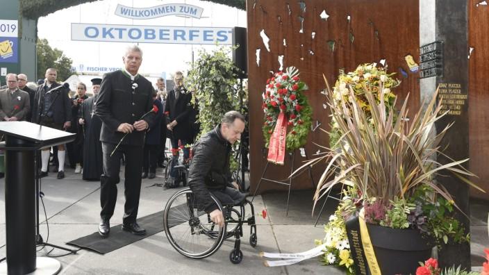Gedenken an die Opfer des Oktoberfest-Attentats 1980 in München, 2019
