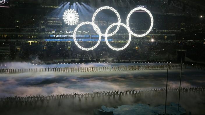 XXII Olympic Winter Games Opening ceremony AlekseyxBoitsov PUBLICATIONxINxGERxSUIxAUTxHUNxONLY