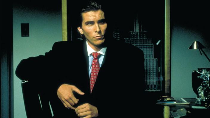 AMERICAN PSYCHO, Christian Bale, 2000 Lions Gate/Courtesy Everett Collection !ACHTUNG AUFNAHMEDATUM GESCHÄTZT! PUBLICATI