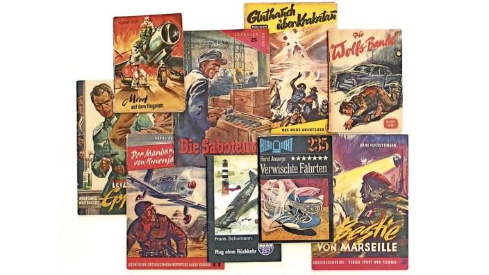 Groschenromane in der DDR: Die Heftchen wurden streng redigiert, Lektoren des Militärverlages forderten Umarbeitungen. Könnte der Held nicht Mitglied der Kommunistischen Partei sein?