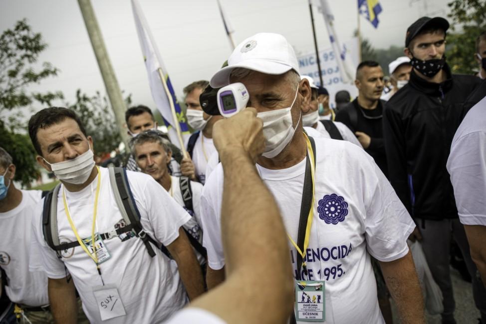 25th Anniversary Commemorations Of The Srebrenica Massacre