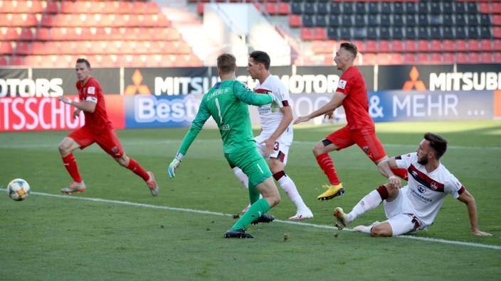 FC Ingolstadt v 1. FC Nürnberg - 2. Bundesliga Playoff Leg Two