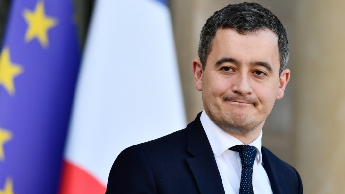 Gerald Darmanin, Minister of Action and Public Accounts in the Council of Ministers of February 12, 2020 PUBLICATIONxIN
