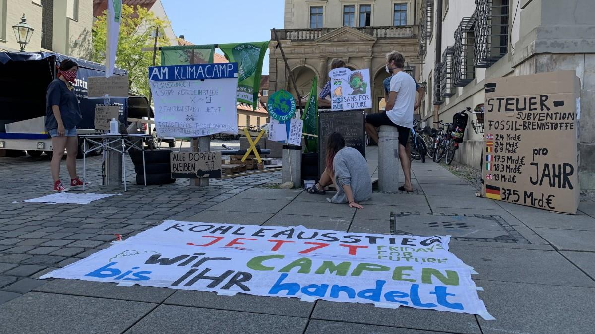 """Klimaschutz: """"Fridays for Future""""-Camp in Augsburg"""