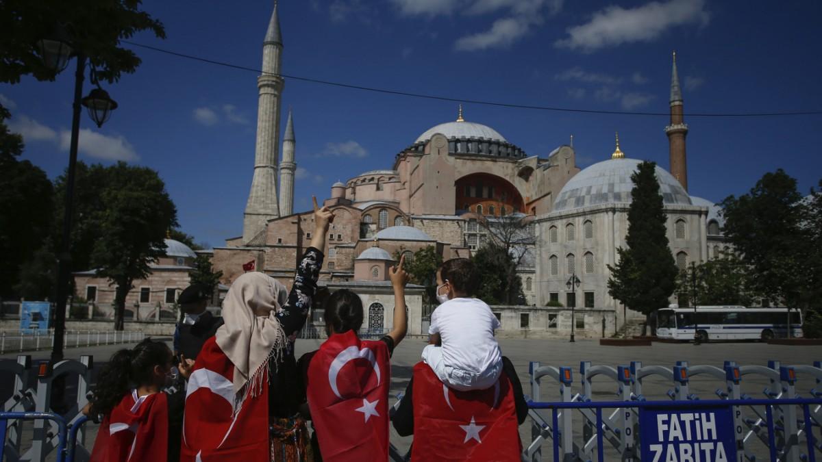 Hagia Sophia in Istanbul - Schritt 567 Jahre zurück