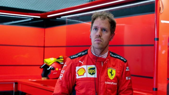 Motorsports: FIA Formula One World Championship, WM, Weltmeisterschaft 2020, Grand Prix of Styria Motorsports: FIA Form; Sebastian Vettel