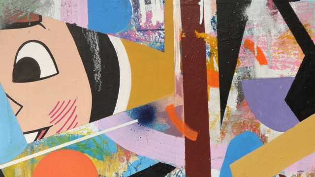 Martin Gerstenberger, Symphony of chaos, 2019, Acryl auf Holztafel