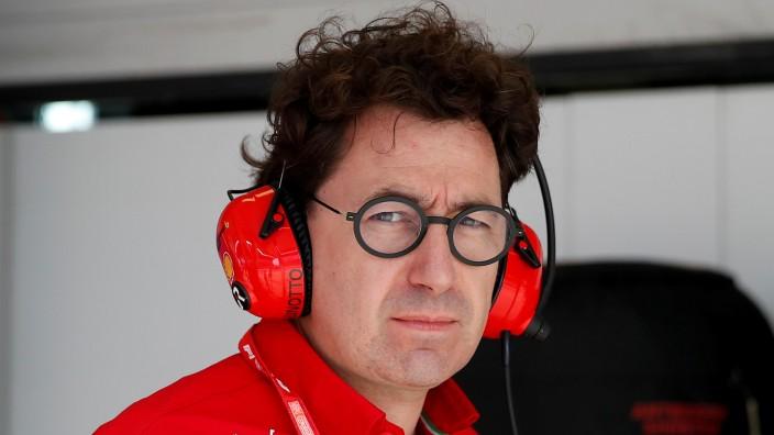 Formel 1: Ferrari-Teamchef Mattia Binotto