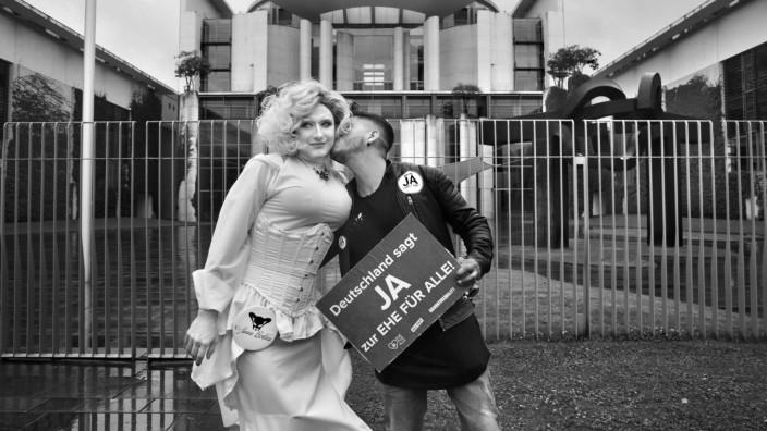 Demonstration für die Gleichgeschlechtliche Ehe in Berlin