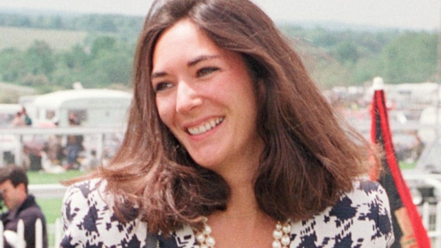 Epstein-Skandal - Ghislaine Maxwell