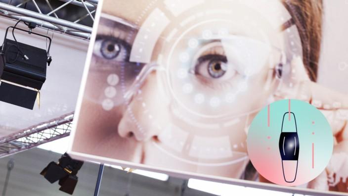 Telekom-Logo an einem Stand auf der Messe ANGA COM - Where Broadband meets Content in der Koelnmesse. KËÜln, 06.06.2019