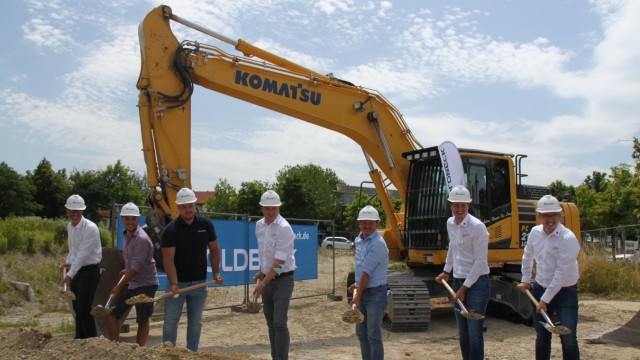 Spatenstich für den Neubau des Unternehmens Innolas Solutions  in der Kraillinger KIM