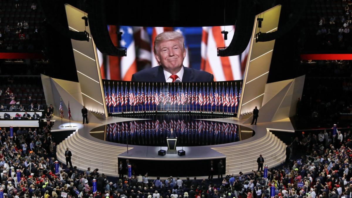 US-Politik - Trumps Traum vom pompösen Parteitag