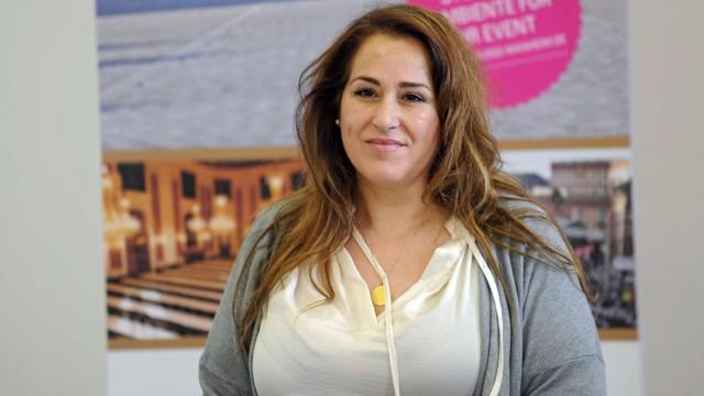 Comedian Bülent Ceylan. Schauspielerin Idil Baydar ( Gerda Grischke / Jilet Ayse ) anläßlich einer Pressekonferenz mit