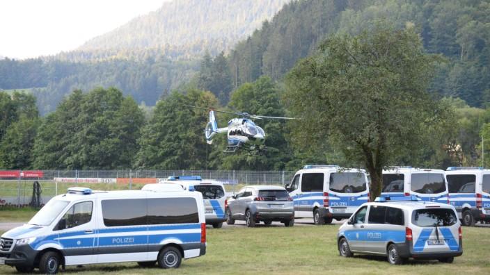 Großaufgebot der Polizei in Oppenau
