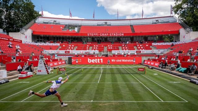 Sport Bilder des Tages Tennis Berlin 13.07.2020 Bett1aces Turnier Jan-Lennard Struff (GER Steffi-Graf Stadion Sportst°tt