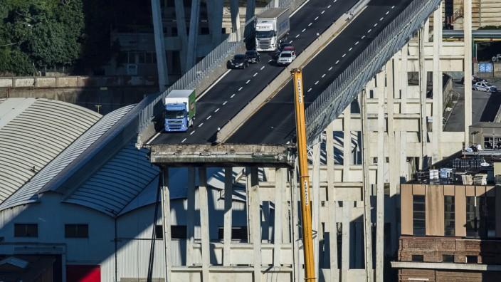 Italien: 43 Menschen kamen bei dem Brückeneinsturz in Genua vor knapp zwei Jahren ums Leben.