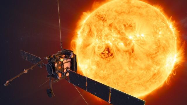 Sonde Solar Orbiter macht Sonnenbilder