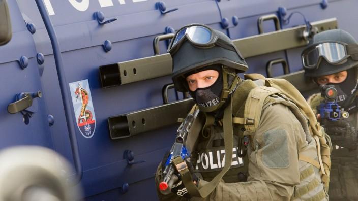 Bilder des Tages Wien 21 08 2017 Donau Wien AUT AUT Internationale TerrorUebung mit Szenario Ge