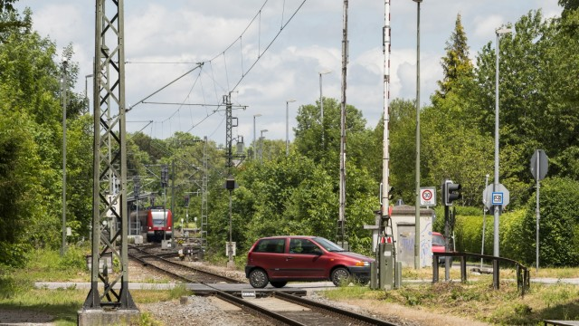 Bahnuebergang Haager Strasse