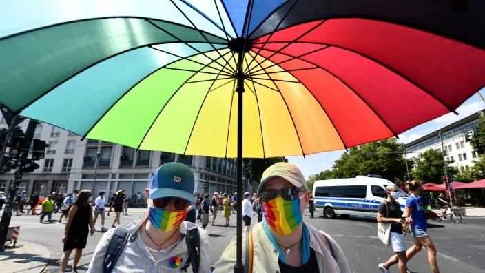 Christopher Street Day 2020 in Berlin CSD-pride demo, CSD, CSD Berlin, Schwulenparade, Lesbenparade, Parade, Veranstalt