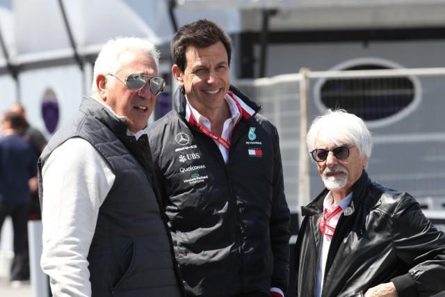 Photo4 / LaPresse 27/04/2019 Baku, Azerbaijan Grand Prix Formula One Azerbaijan 2019 In the pic: Lawrence Stroll (CAN); Lawrence Stroll