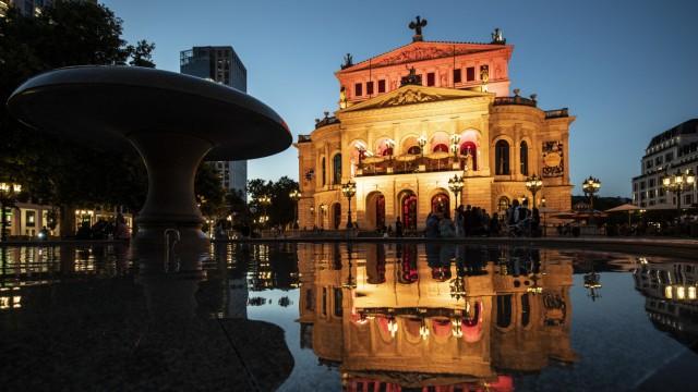 Aktion 'Night of Light' - Frankfurt am Main