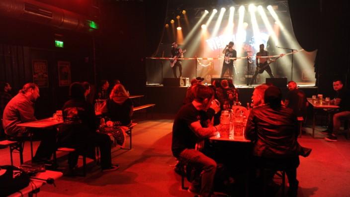 Erstes Konzert im Backstage in München nach Lockerungen in der Corona-Krise, 2020