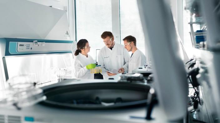 Corona-Impfstoff: Labor des Mainzer Unternehmens Biontech