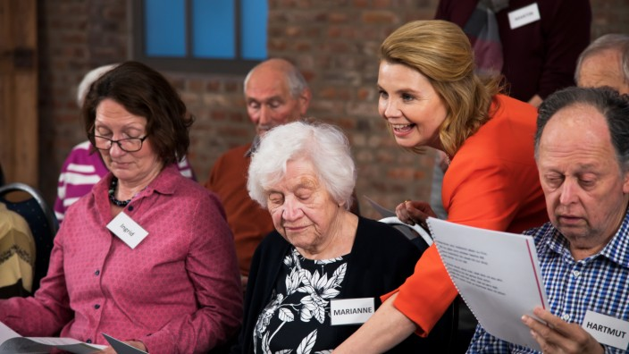Annette Frier ZDF Unvergesslich - Unser Chor für Menschen mit Demenz