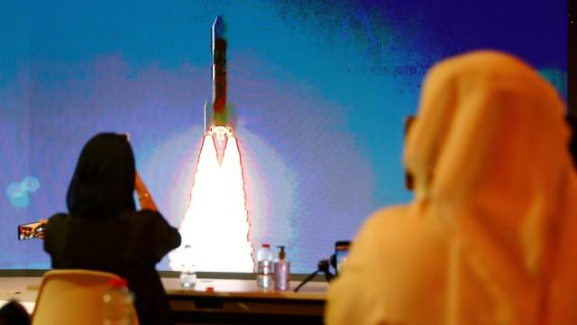 Launch of the United Arab Emirates Mars mission, in Dubai