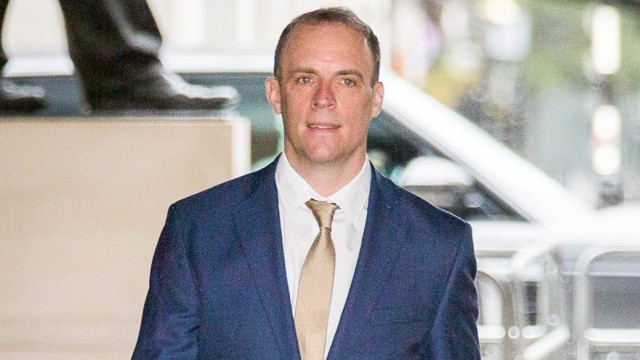 Dominic Raab, Foreign Secretary 19/07/2020. London, United Kingdom. Guests Attend The Andrew Marr Show