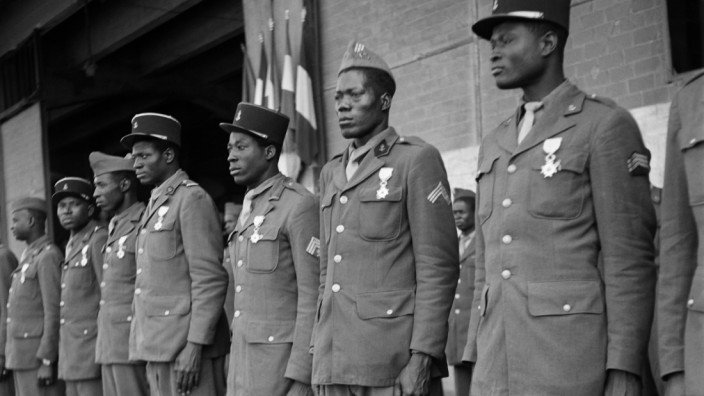 FRANCE-WWII-SENEGALESE SOLDIERS