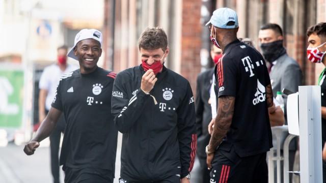 FC Bayern München - Empfang im Rathaus